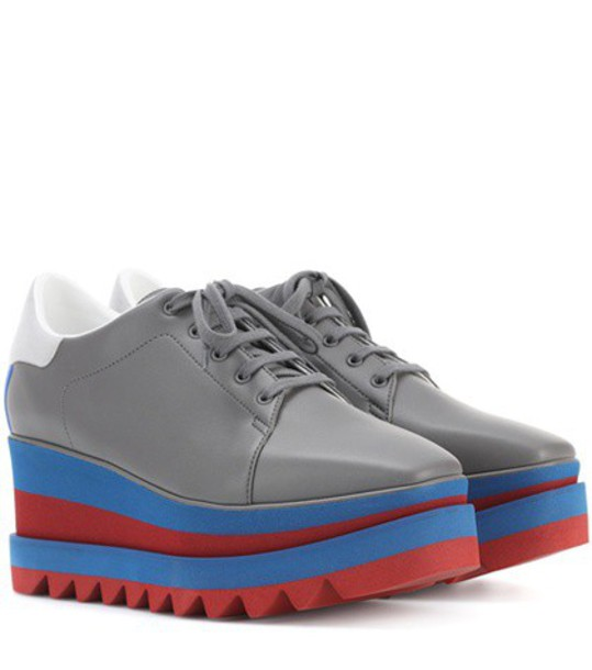 Stella McCartney sneakers platform sneakers grey shoes
