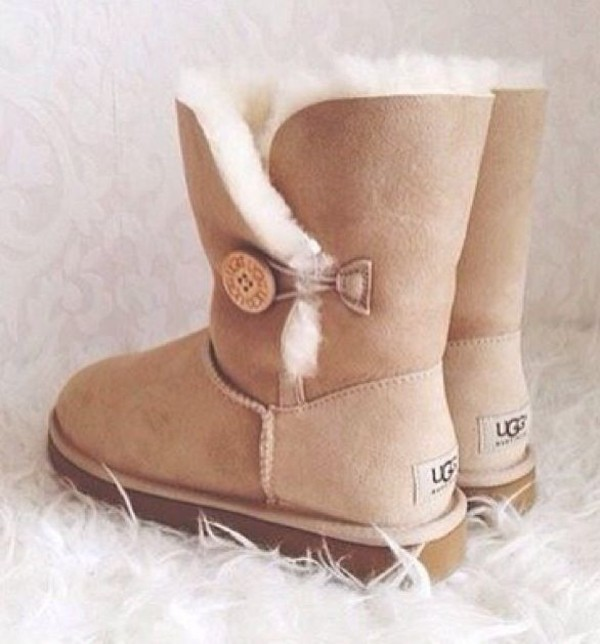 shoes ugg boots ugg boots sandy brown ugg boots uggs boots bailey bow brown boots furry boots