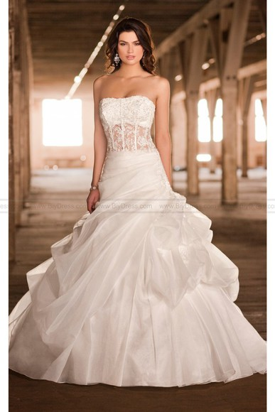 strapless wedding dress bridal gowns 2014 wedding dresses fashion