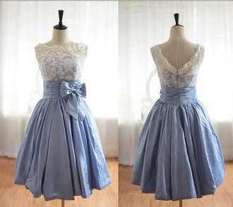 dress tea short prom dress prom gown bridesmaid lace dress lace lace prom ball gown dress blue homecoming dress cocktail dress blue dress knee length dress alice in wonderland vintage hellblau spitze