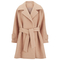 2ndday women's roxie coat - peach nougat