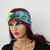 Green stretchy headband yoga headband ear warmer women's headband birthday gifts fashion accessory