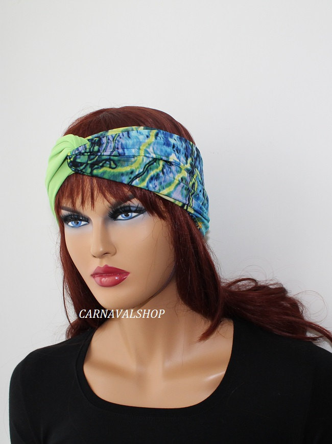Green stretchy headband yoga headband ear warmer women's headband birthday gifts fashion accessory