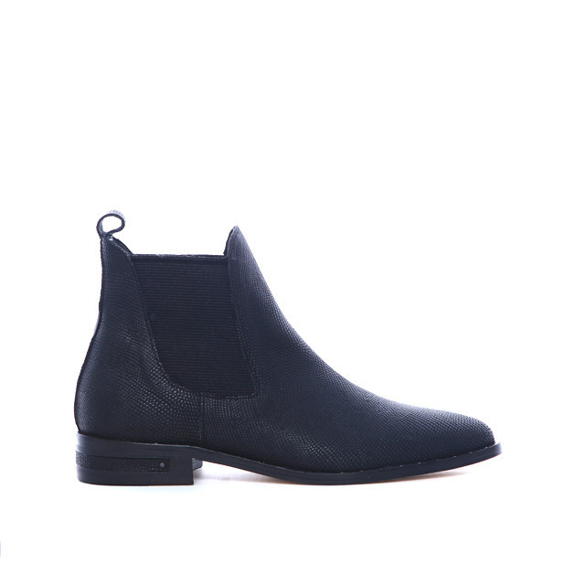 Fringe chelsea ankle boot