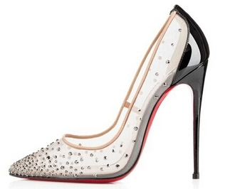 shoes black clear pumps bejeweled