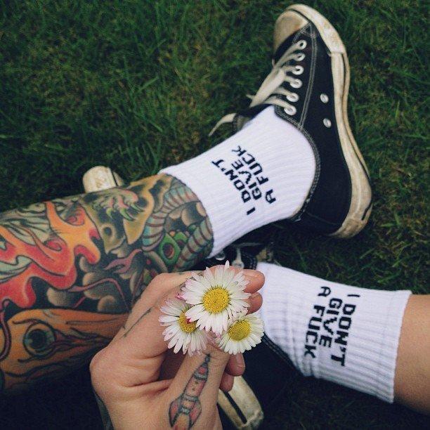 Fancy - I Don't Give A F*ck Socks