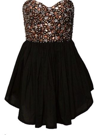 black dress little black dress beaded homecoming dress black mini dress