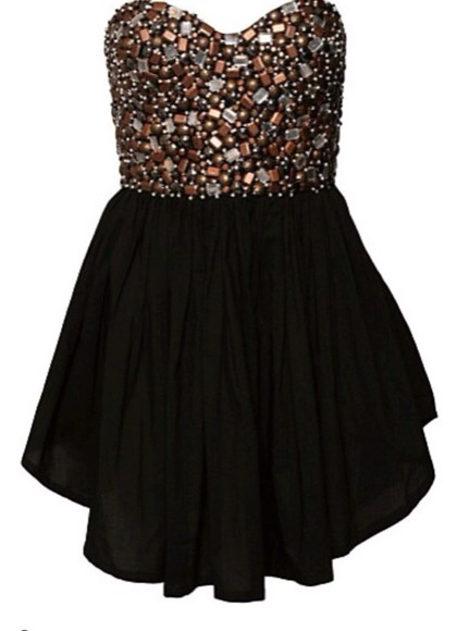 dress black mini dress little black dress homecoming dresses beaded black