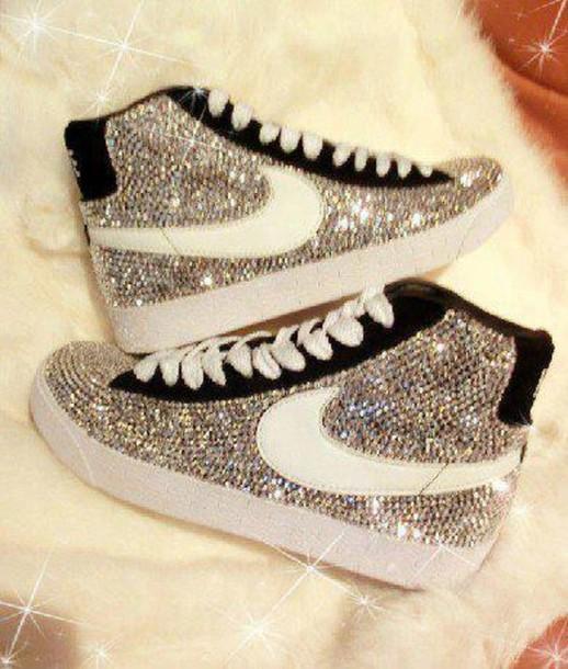 nike scarpe glitter