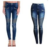jeans,elegant lady,biker,blue,ladies,girl,skinny,zip,zips