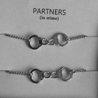 jewels bracelets silver jewelry handcuffs