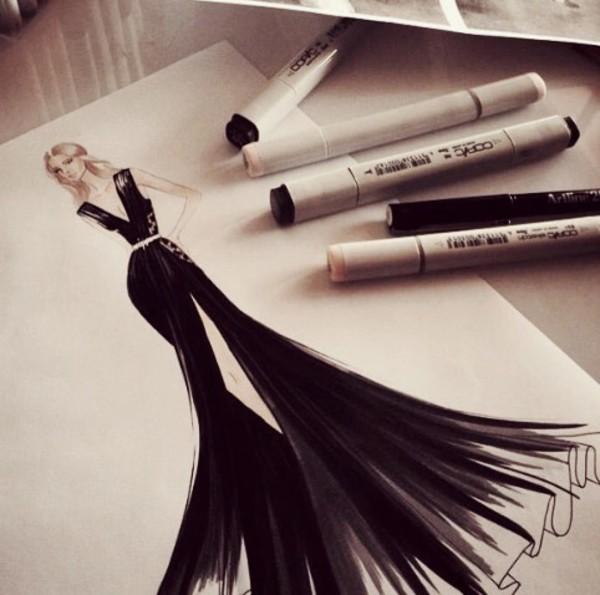 poster fashion pencils desk