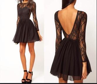 dress black dress beautiful