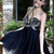 Short Embroidery Navy Evening Prom Dress Formal Party Cocktail Dresses Size 6 16 | eBay