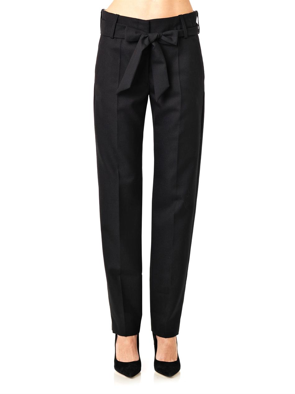 Kalla straight-leg tailored trousers | Isabel Marant | MATCHES...