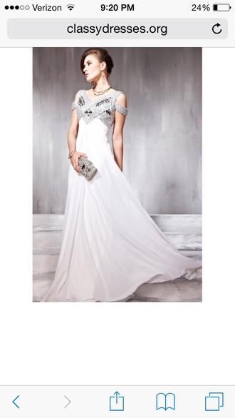 dress prom dress classy dress white dress sparkles sparkle dress sparkle prom dress prom gown prom promdress  dress evening dress