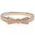 Bow Tie Bracelet in 18k Gold   Pavé Cubic Zirconia Crystals   18k Gold Plated   JewelSugar