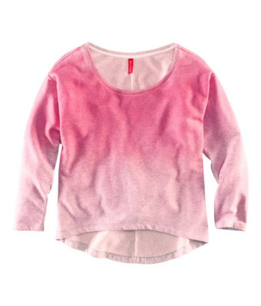 sweater tie dye pink