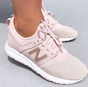 shoes,new balance,pink