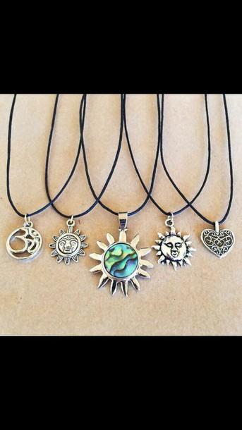 jewels necklace grunge