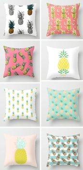 phone cover,pineapple,pillow,yellow,green,hipster wishlist,beach house