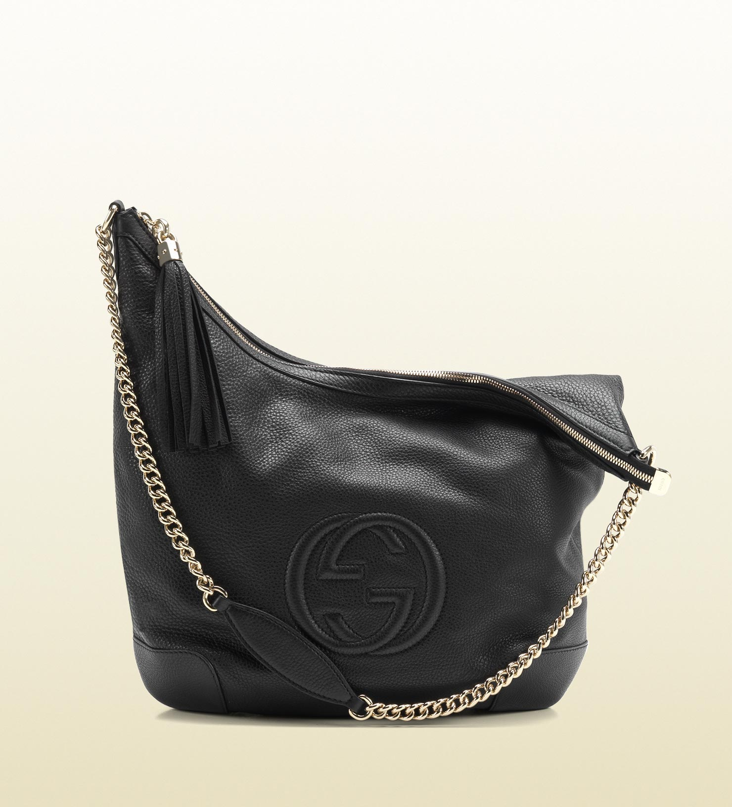 Gucci - soho shoulder bag with chain strap 308981A7M0G1000