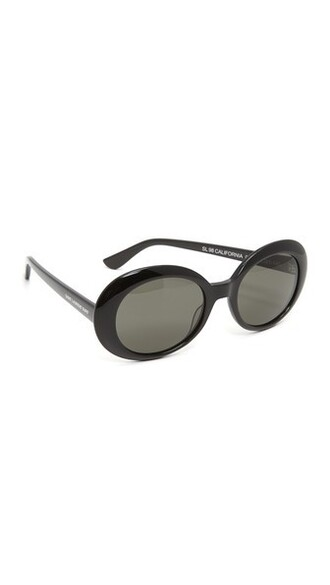 california smoke sunglasses black