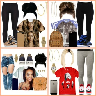 t-shirt hairstyles earrings bag tights jordans rue 21 i phone case