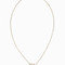 Ruifier women`s pearl smile necklace