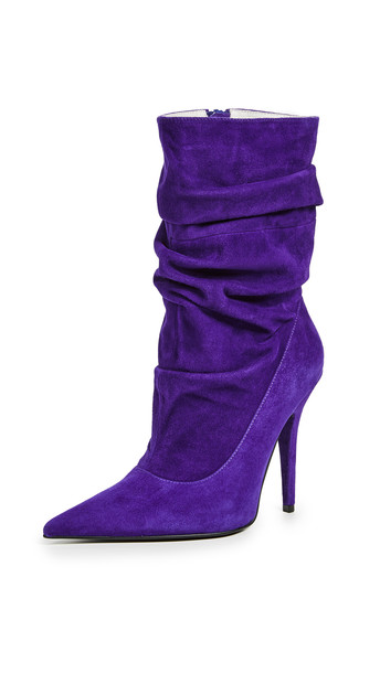 Jeffrey Campbell Erotic Mid Shaft Boots in purple