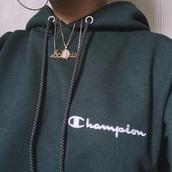 sweater,champion hoodie,green,champion,champion army green sweatshirt,jacket,dark green champion hoodiee