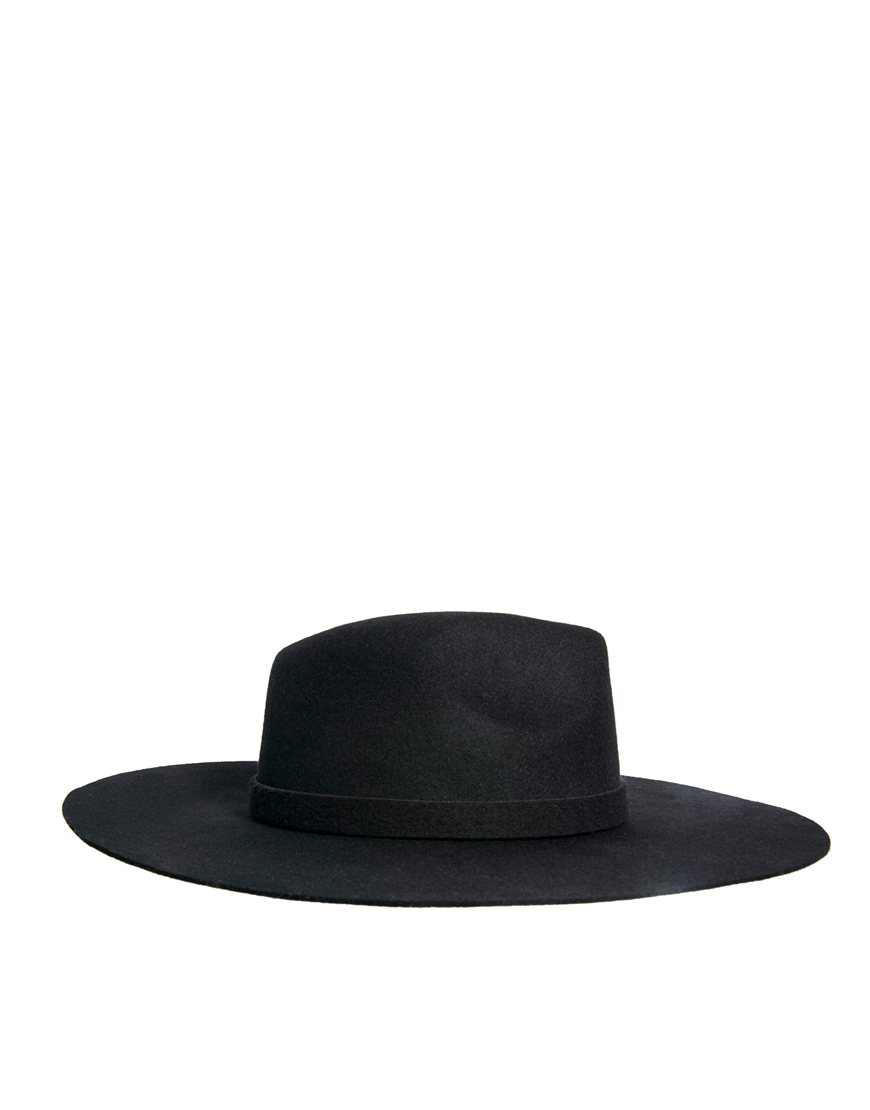 ASOS Oversized Felt Fedora Hat at asos.com