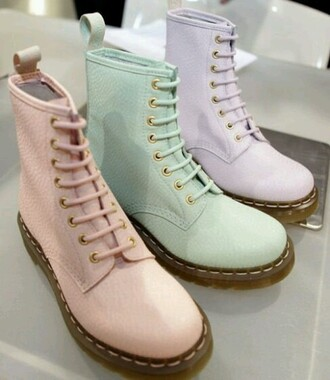 shoes boots pastel grunge pastel grunge drmartens pink tumblr tumblr fashion tumblr girl cardigan shorts