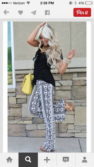 grey flowy tribal pattern long