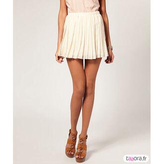 skirt nude short skirt