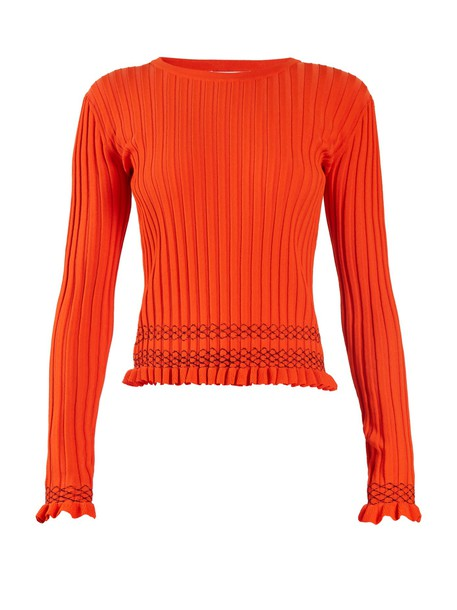 Altuzarra sweater knit orange