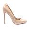 5 inch heels - nude pointed high heels