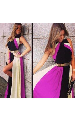 LUXE Parisia Chiffon Maxi Dress -  from The Fashion Bible  UK