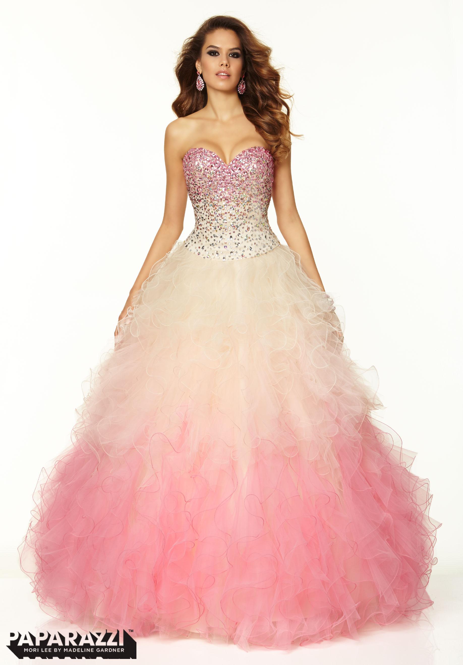 dress, mori lee, prom dress, prom dress, ombre dress, fashion, prom ...