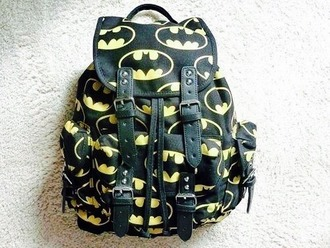 batman yellow black