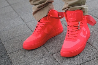 shoes red nike nike air