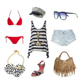 top,sailor,sea,summer,tank top,summer outfits