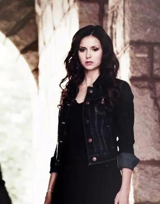 jacket katherine pierce the vampire diaries so beautiful inlove veste en jeans