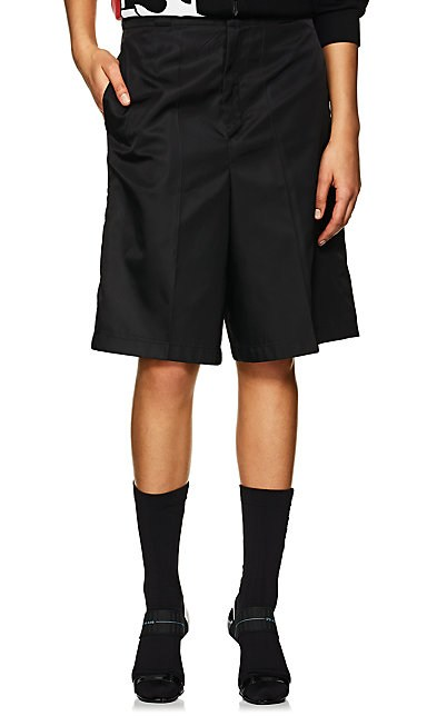 Prada Tech-Twill Bermuda Shorts | Barneys New York