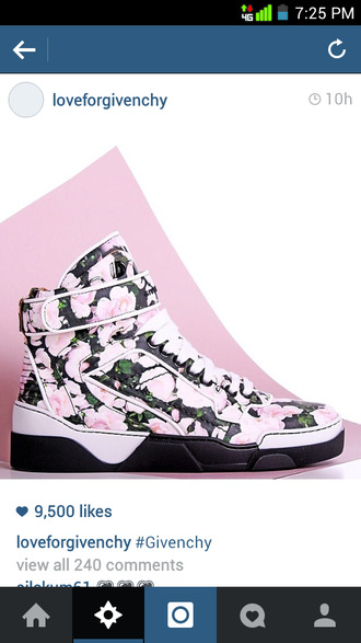 shoes givenchy high top sneakers