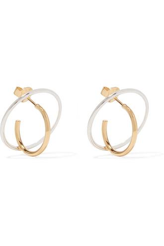 silver earrings earrings gold silver jewels