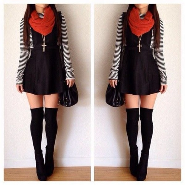 dress fall outfits underwear jacket