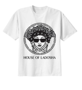 t-shirt house of ladosha white tshirt only shortsleeve