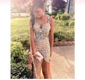 dress,sparkle,prom,prom dress,prom gown,gold