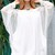 Stylish Bat-Wing Sleeve Off The Shoulder Loose See-Through Women's Dress